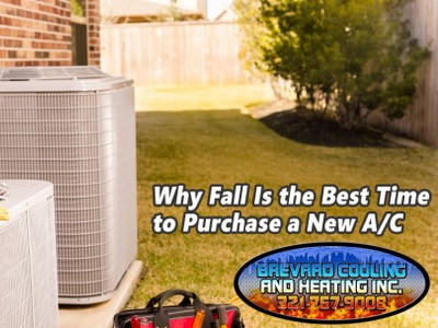 Why Fall Is the Best Time to Purchase a New A/C