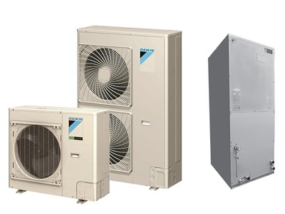 SkyAir Inverter Ducted Whole House Heat Pump